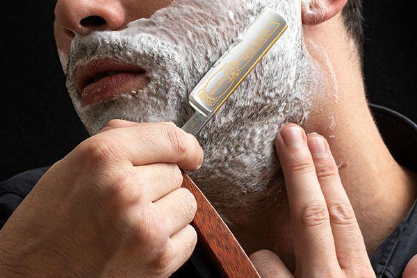 rasage au coupe choux